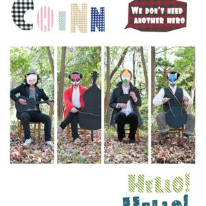 COINN 1st Album「Hello!Hello!Hello」発売中です。